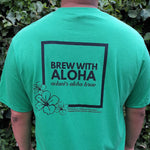 Men's Crew Tee - Aloha Coffee Beans