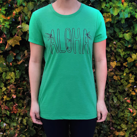 Women's Tee - Aloha Coffee Beans