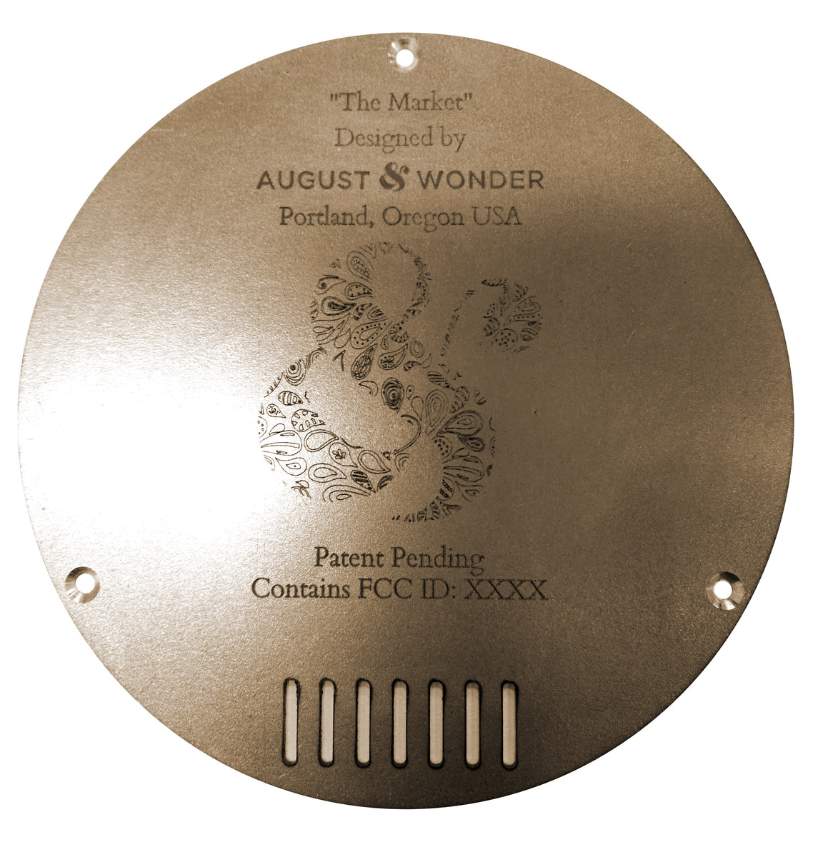 THE MARK OF THE SERIES A – August & Wonder
