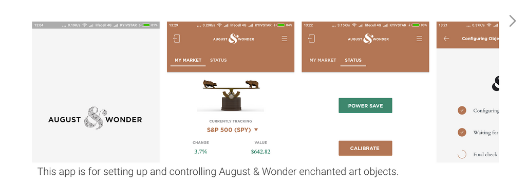 August & Wonder App is now in the Google Play Store!