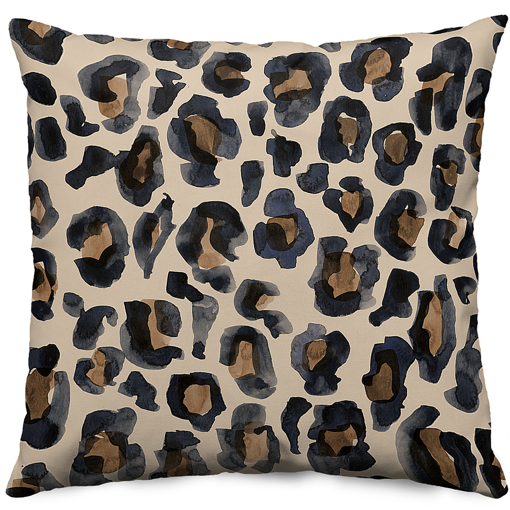 LEOPARD-20x20 Throw Pillow