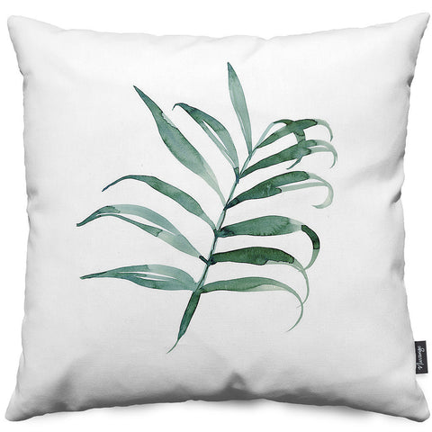 Bungalow Palm Throw Pillow