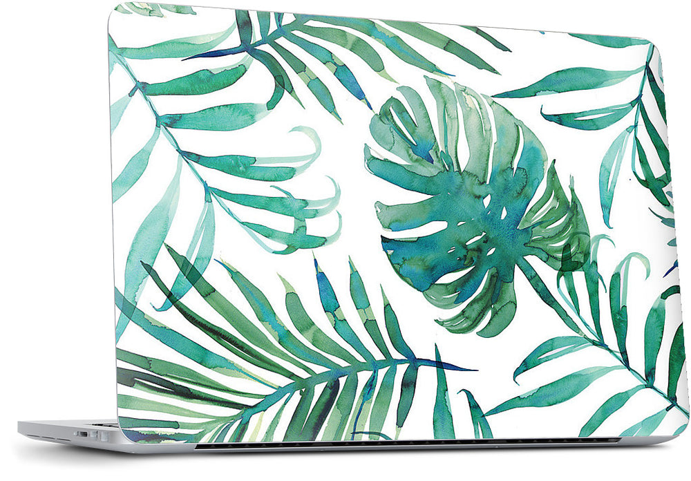White Palm Laptop Skin