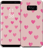 Hearts All Over -Pink- Samsung Case
