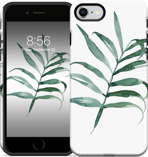 Black Palm iPhone Case