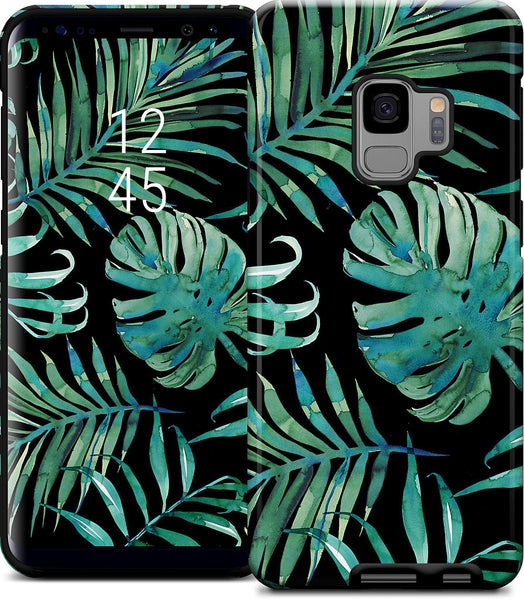 Black Palm Samsung Case