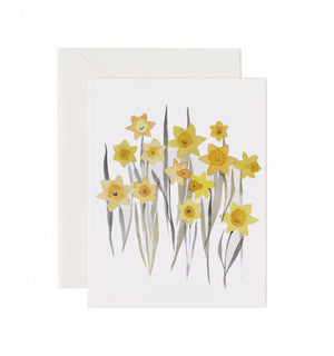 Load image into Gallery viewer, 5x7 Notecard - Daffodils