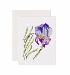 Load image into Gallery viewer, 5x7 Notecard - Iris
