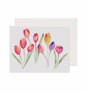 5x7 Notecard - Tulips