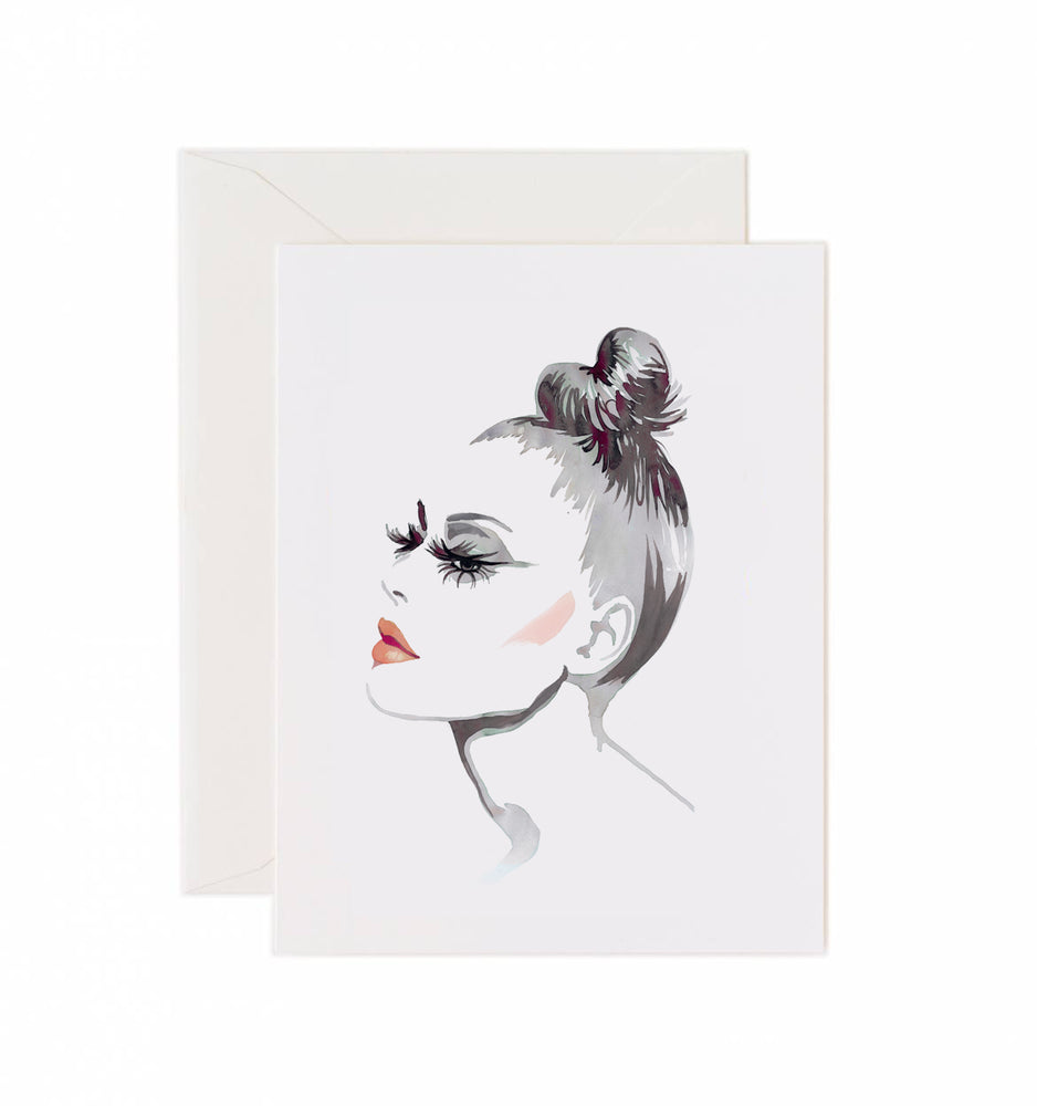 5x7 Notecard - Glam