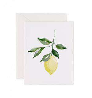5x7 Notecard - Lemon