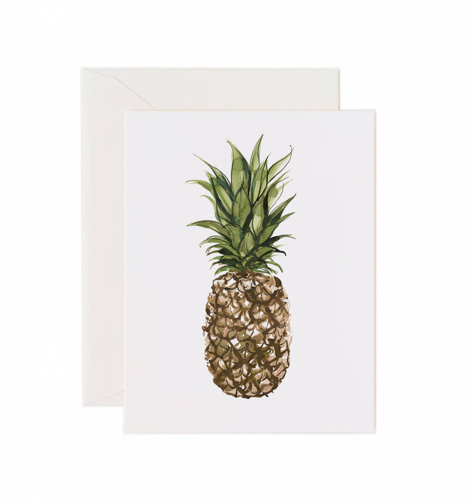 5x7 Notecard - Pineapple