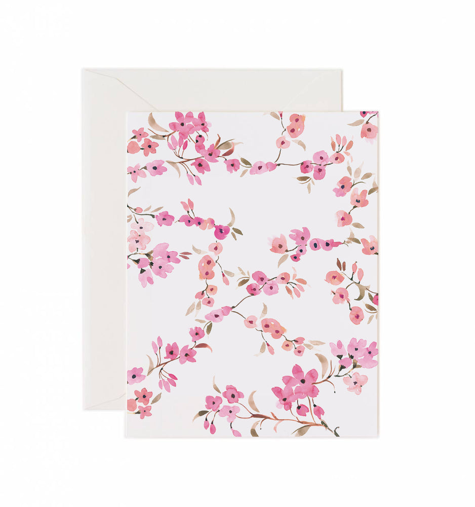 5x7 Notecard - Cherry Blossom