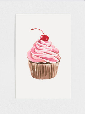 Load image into Gallery viewer, Cupcake Print