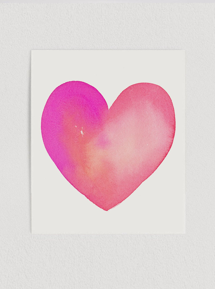 Load image into Gallery viewer, Heart Print