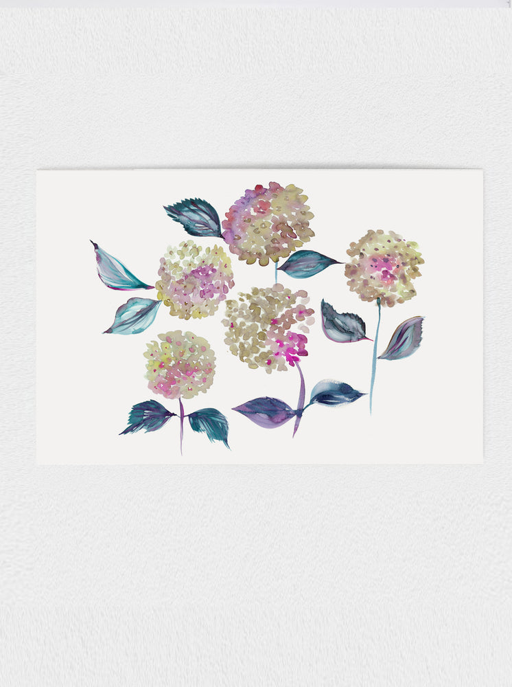 Load image into Gallery viewer, Hydrangea Print