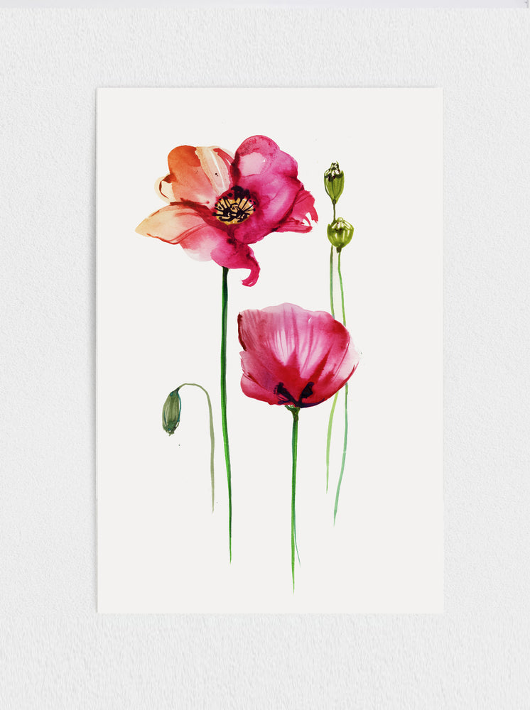 Load image into Gallery viewer, Poppy Print #1