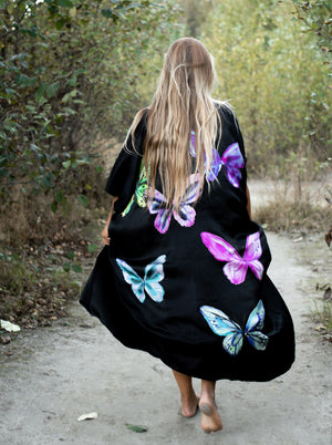 Limited Edition Magical Butterflies Duster