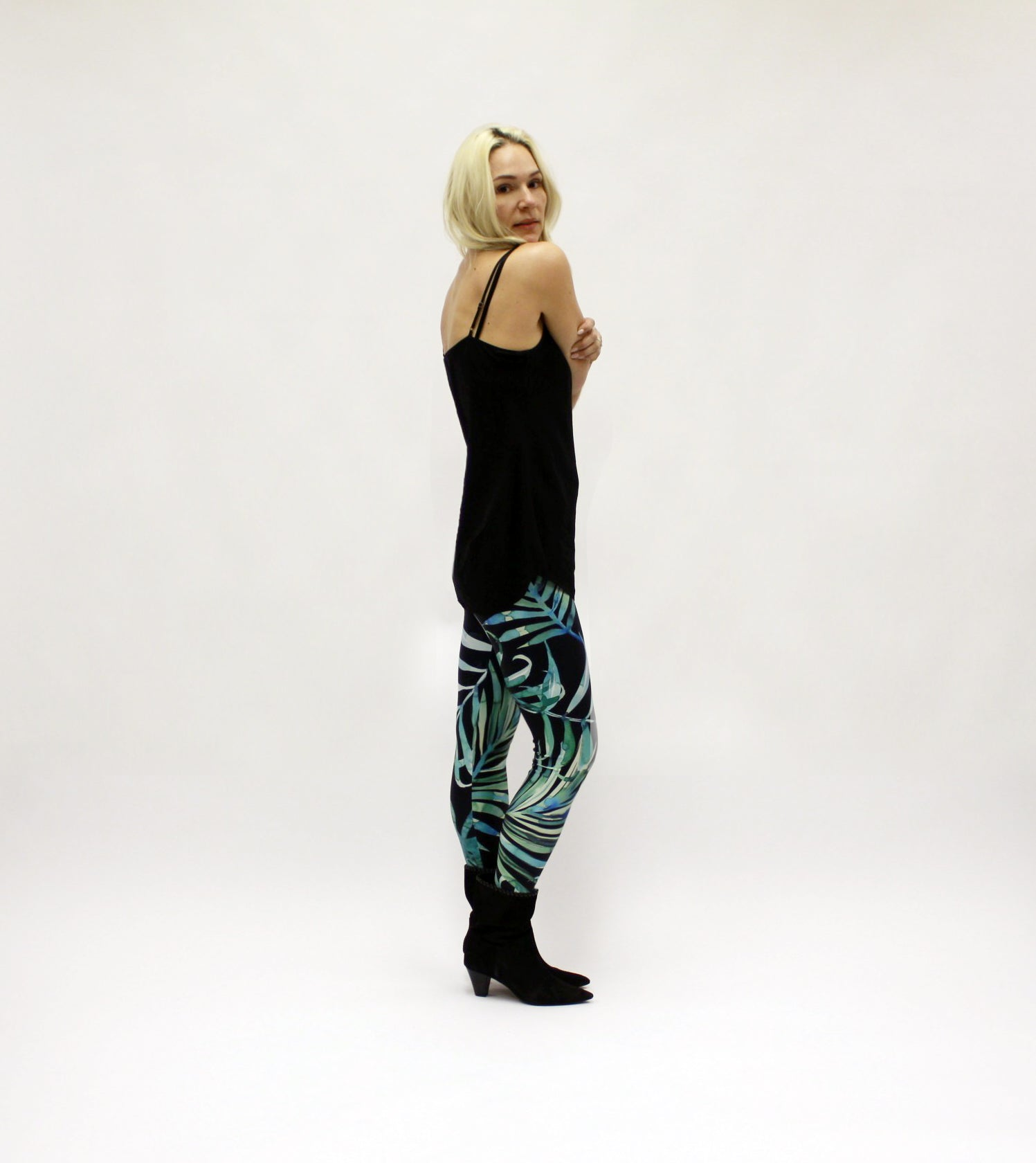 Dark Palm Leggings