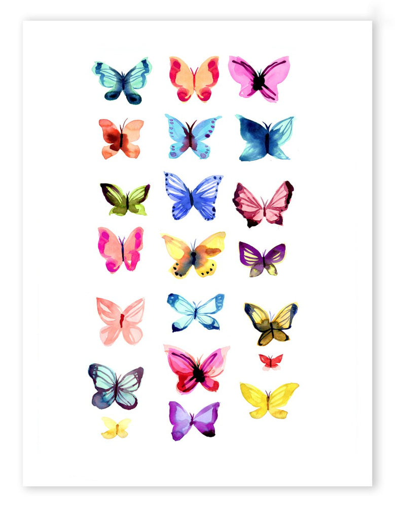 Butterflies - Canvas