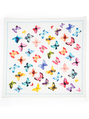 Load image into Gallery viewer, Butterflies Handkerchief