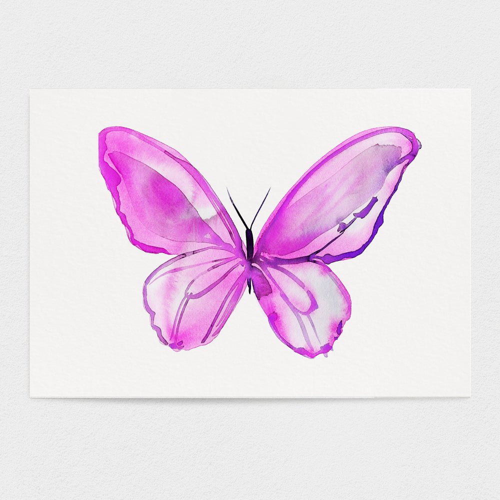 Butterfly #2 - The Love Butterfly - 11x14