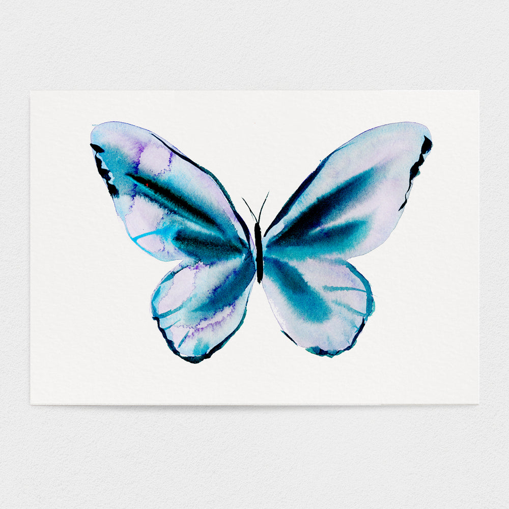 Butterfly #6 - The Peace Butterfly - 11x14