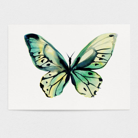 Butterfly #8 - The Happiness Butterfly - 11x14