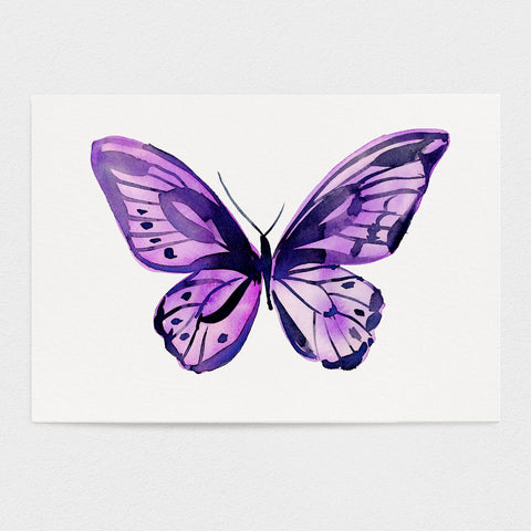 Butterfly #9 - The Friendship Butterfly - 11x14