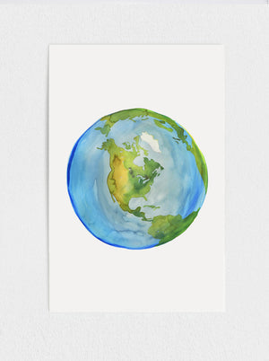 Load image into Gallery viewer, Planet Earth Print