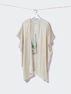 Load image into Gallery viewer, The Mary Jane Ivory Kimono