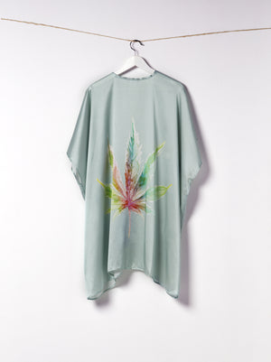 Load image into Gallery viewer, The Mary Jane Sage Kimono