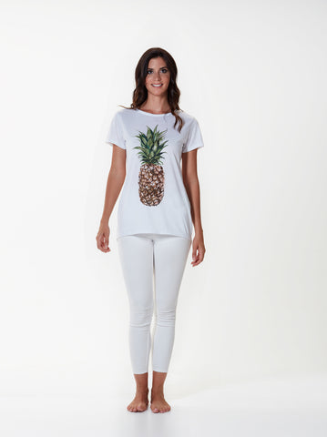 Pineapple Back Drop Tee