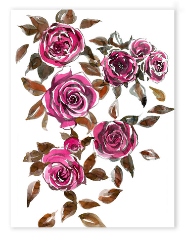 Pink Roses Limited Edition