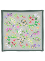 Canadian Provincial Flowers Handkerchief