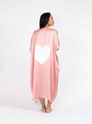 Load image into Gallery viewer, The Pink Heart Kimono