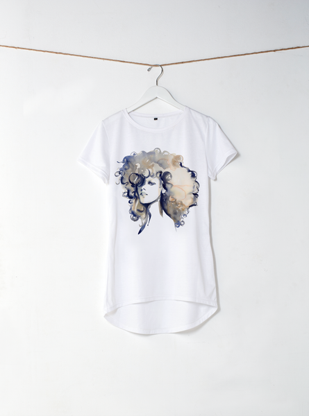 Alicia Back Drop Tee