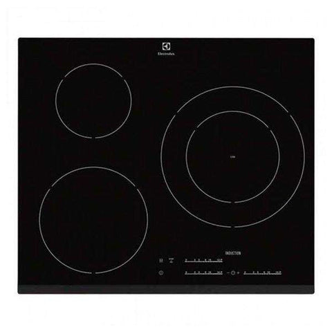 Plaque à Induction Electrolux 60 cm Noir (3 zones de cuisson)