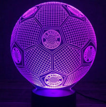 3D Lampe 7 Couleurs Changement Football