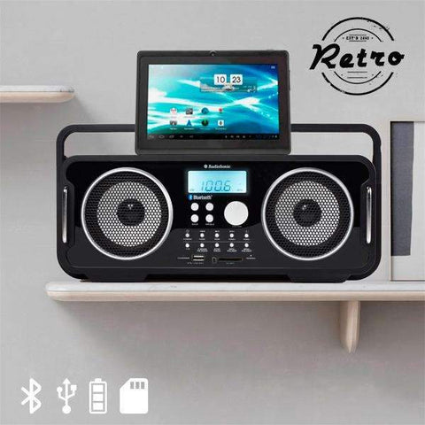 Radio Vintage Bluetooth Rechargeable