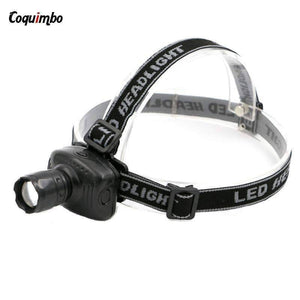 3 Mini Phare Del De Mode Brillant Super Portable Lampe Zoomable Sport Phare Mené Extérieur Campant Pêche Led Headlamps