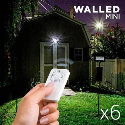 Spots LED WalLED Mini à Télécommande (pack de 6)