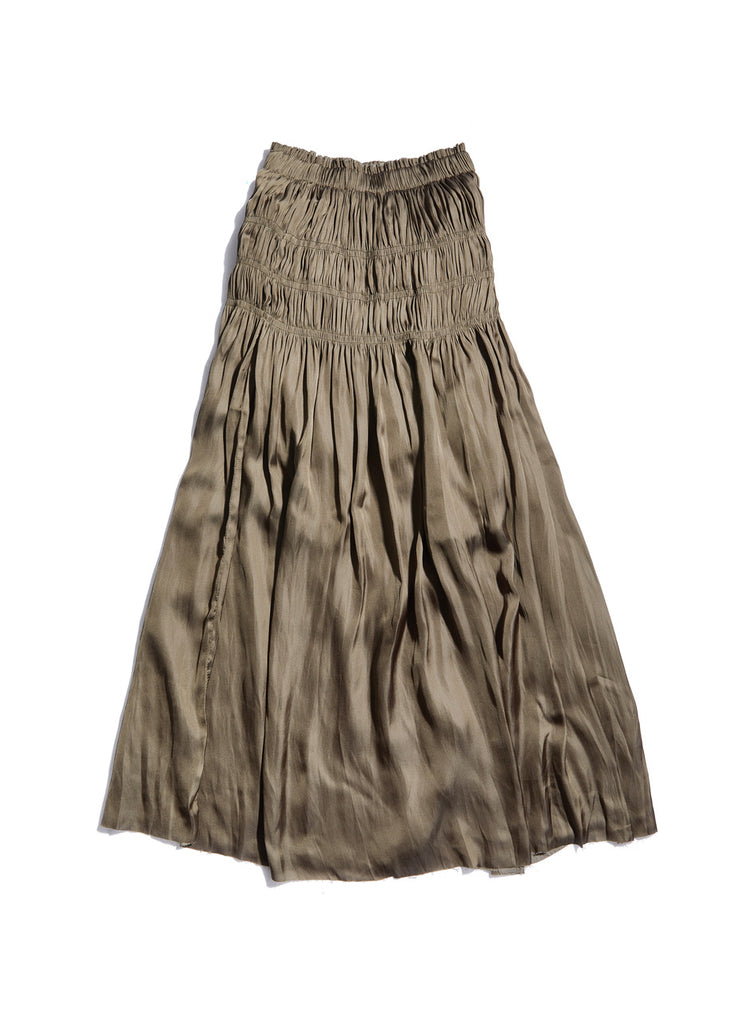 CECILE SKIRT/DRESS ~ KHAKI