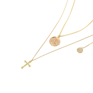 SUKOU STUDIOS SAINT NECKLACE SET