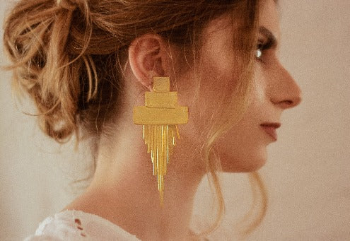 GOLDEN RAIN EARRINGS