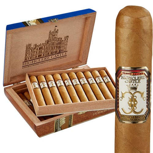 Highclere Castle Edwardian (Connecticut Shade) by Foundation Cigars'