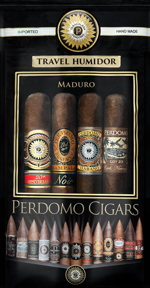 Perdomo Humidified Bags Assortment 4-pack - Maduro