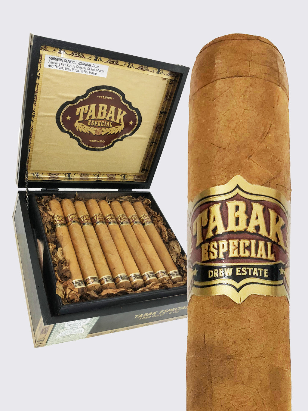 Drew Estate Tabak Especial Dulce (Coffee-Infused)