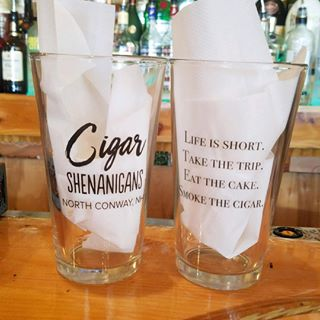 Cigar Shenanigans Pint Glass