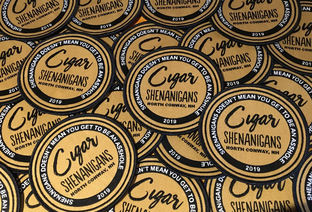 "Cigar Shenanigans 4"" Patch!"